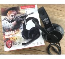 Беспроводные  наушники GAME HEADPHONES GM-001 1*80  HS-125