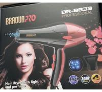 Фен   BR-8833 BRAOUA PRO  20*48   6*40  50052